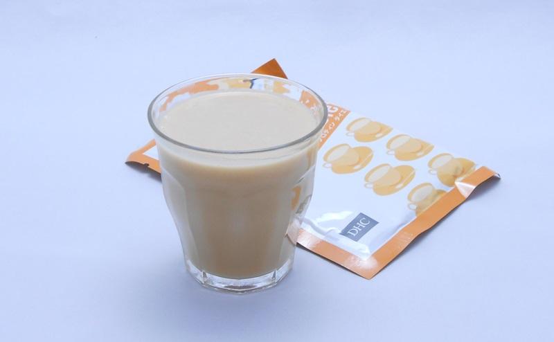 DHCプロティンダイエットのミルクティー味