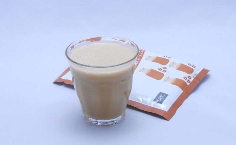 DHCプロティンダイエットのコーヒー牛乳味
