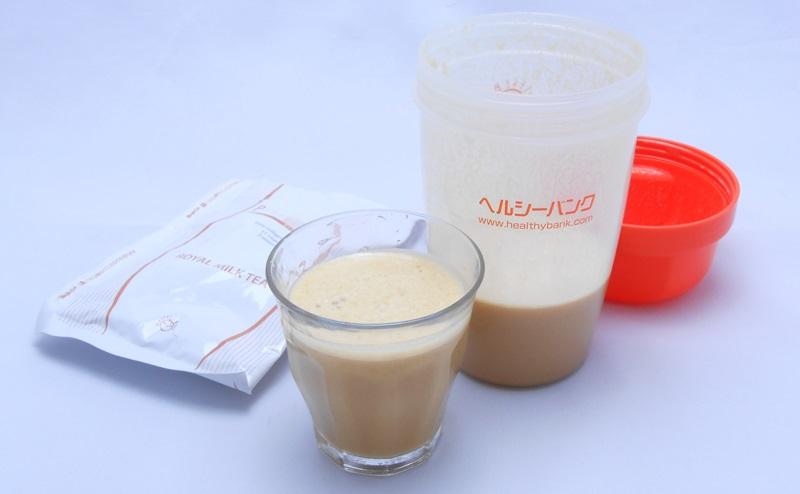 【ヘルシーバンク】美容液ダイエットシェイクのミルクティー味
