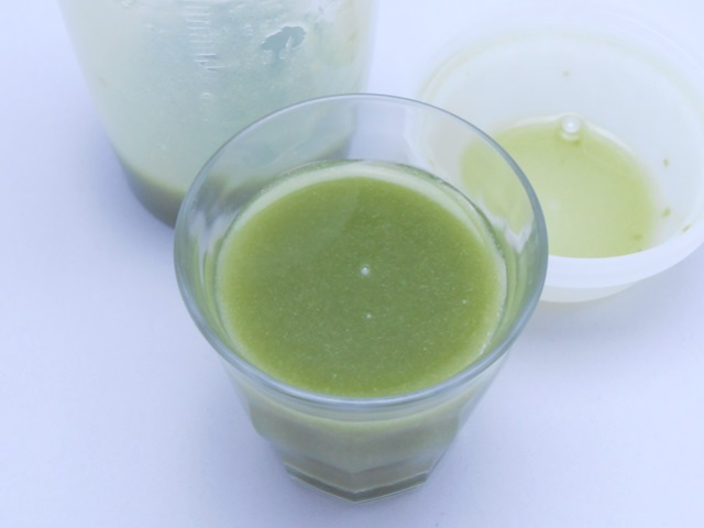 イデアグリーンベリースムージーダイエット160酵素MIXの水割り