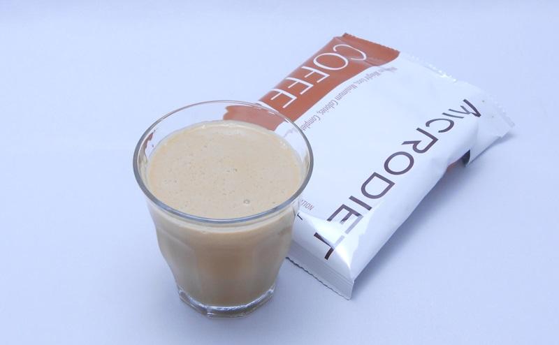 マイクロダイエットドリンクのコーヒー味