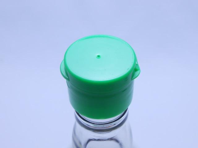 優光泉酵素ドリンク付属のキャップの穴