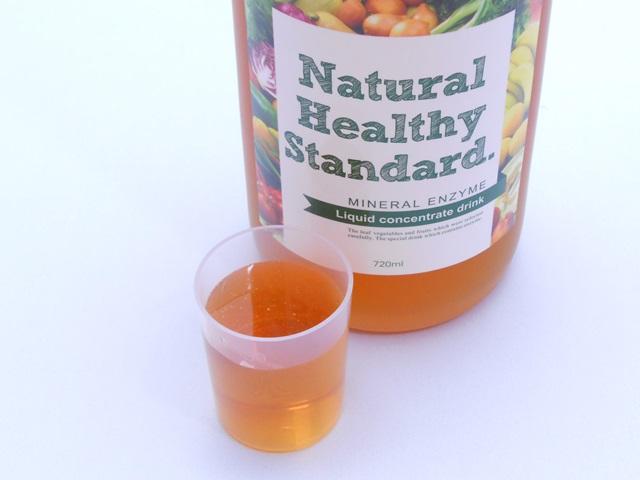 ナチュラルヘルシースタンダードミネラル酵素ドリンクの原液