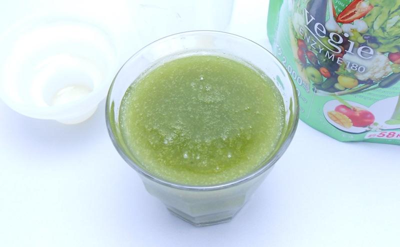 ベジエグリーン酵素スムージーの評価
