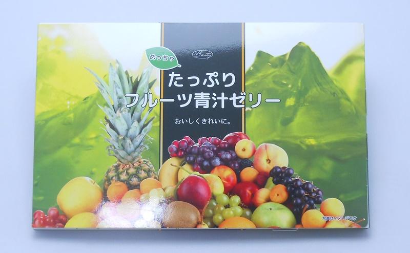 めっちゃたっぷりフルーツ青汁ゼリーのパッケージ