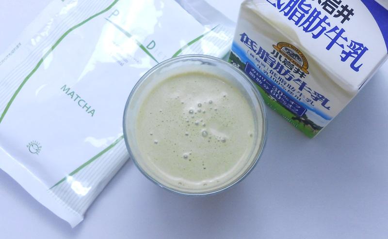 ヘルシーバンク美容液ダイエットシェイクに牛乳を入れると美味しい