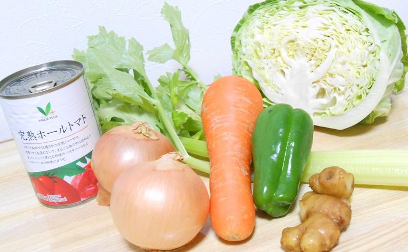 脂肪燃焼スープに使うすべての食材