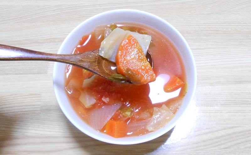 ごろっとした野菜の脂肪燃焼スープ