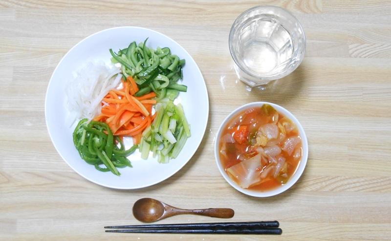 脂肪燃焼スープ2日目:野菜の日