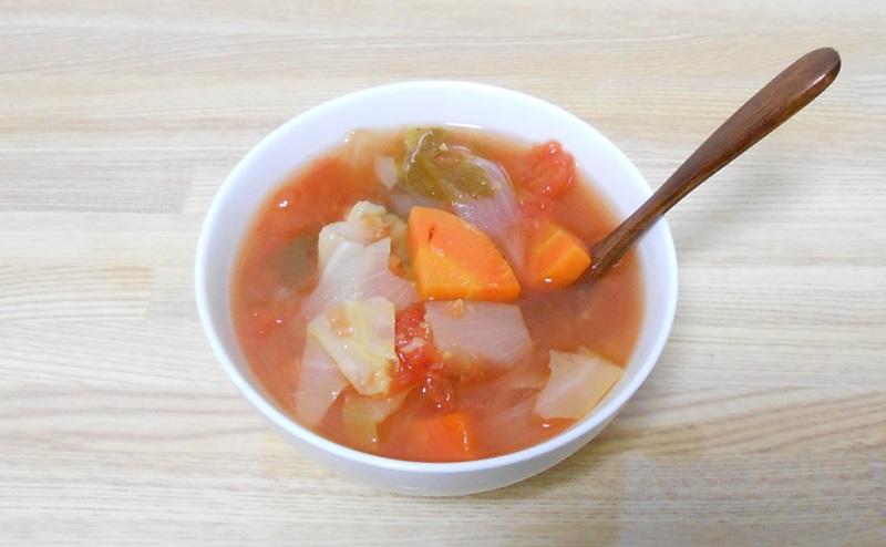 脂肪燃焼スープ一杯分