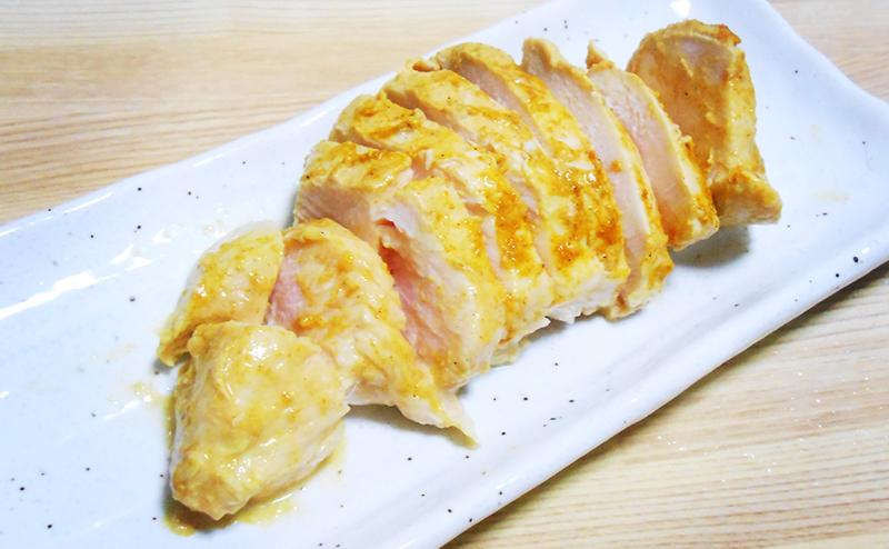 【ファミマ】タンドリーチキン風サラダチキンのレシピ