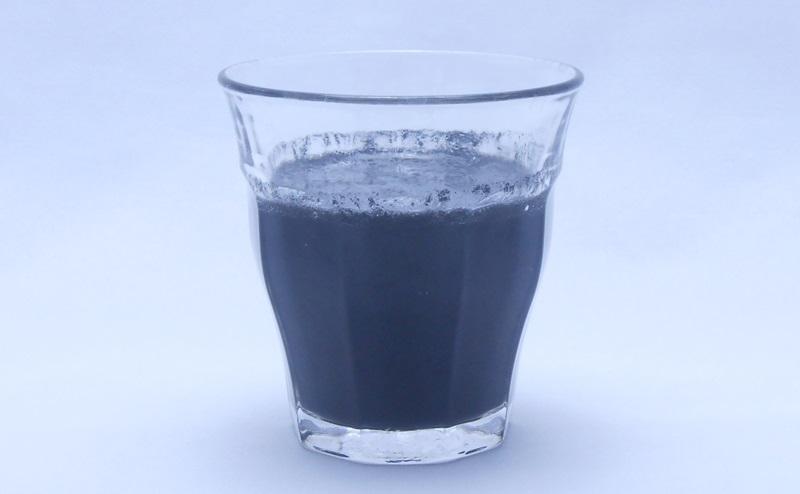 ウルトラチャコールの水割り