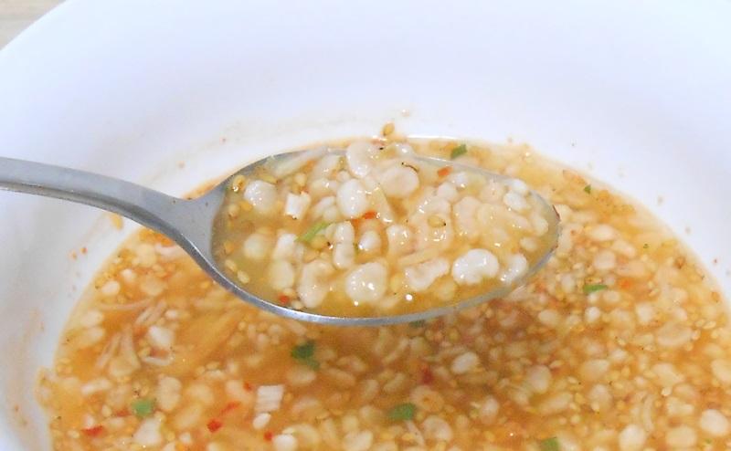 ヘルシーキューピー玄米雑炊の見た目