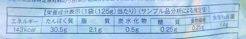【ローソン】サラダチキンハーブ味の栄養成分