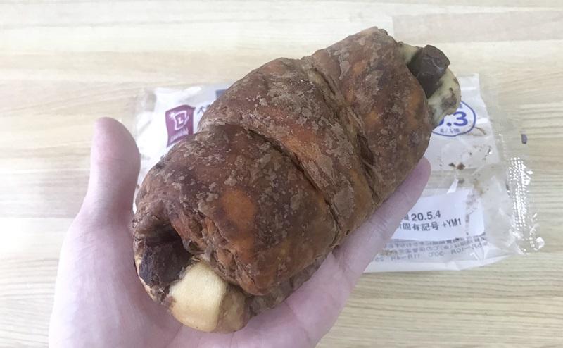 【ローソン】大麦のチョコクロワッサンの評価