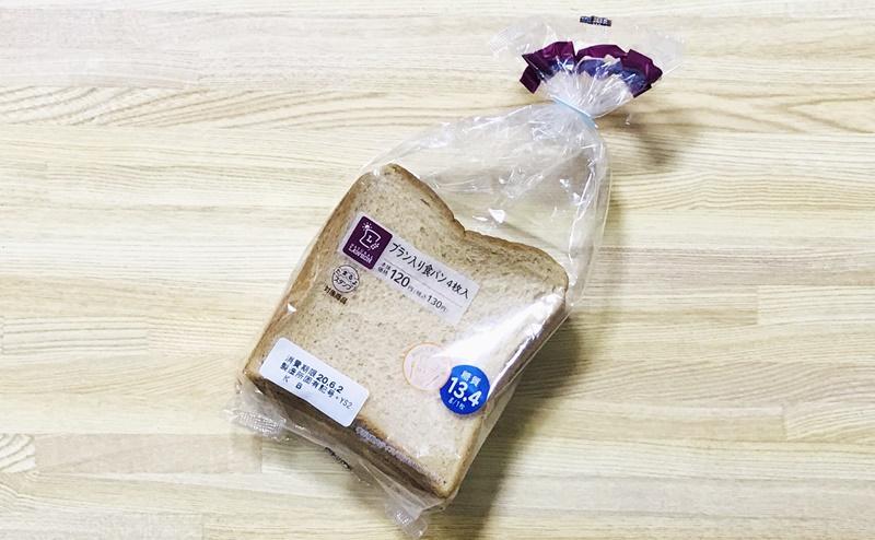 【ローソン】ブラン入り食パン4枚入の評価
