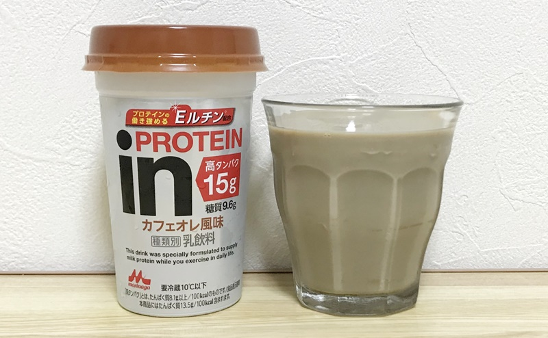 inPROTEIN カフェオレ風味の評価
