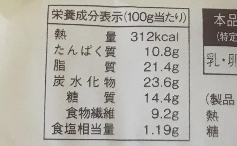 ローソン | 糖質オフのしっとりパン サラダチキン柚子胡椒 2個入の栄養成分表示