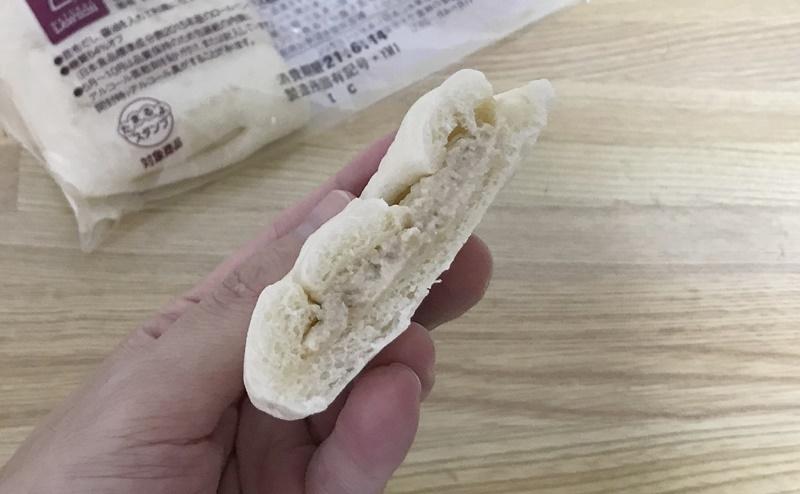 ローソン   糖質オフのしっとりパン 和風ツナの味