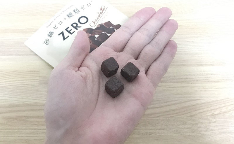 【ロッテ】ゼロ シュガーフリーチョコレートの評価