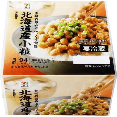 セブンイレブン   北海道産小粒 納豆 3個入