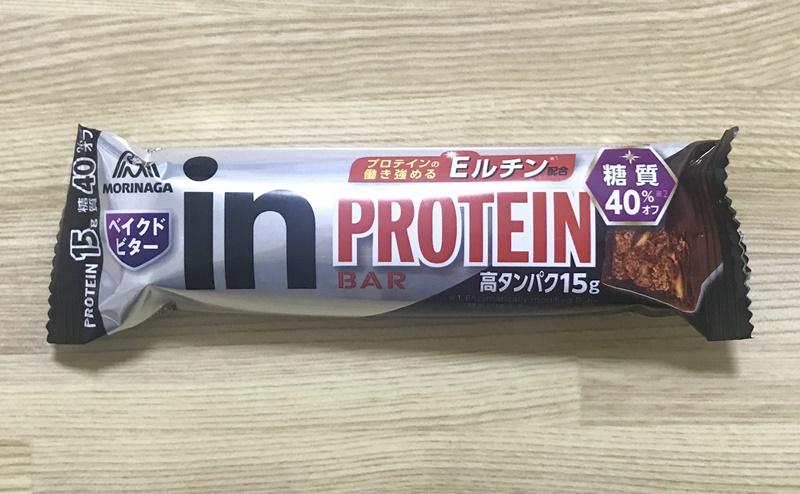 【森永製菓】inバープロテイン ベイクドビター